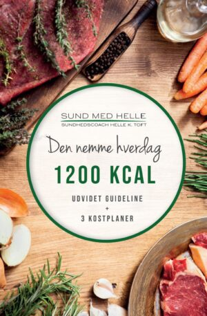 1200 kcal - Den nemme hverdag kostplaner
