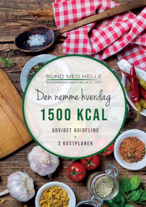 1500 kcal - Den nemme hverdag kostplaner
