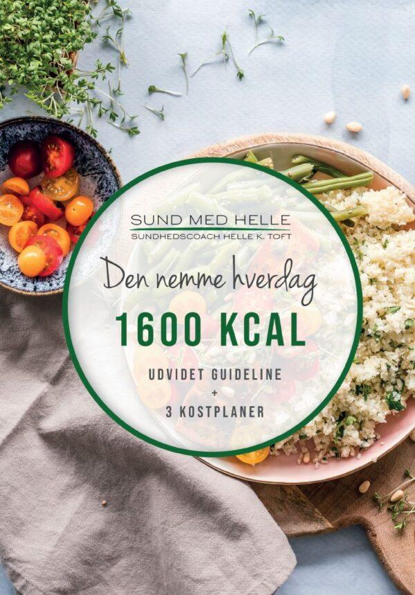 1600 kcal - Den nemme hverdag kostplaner