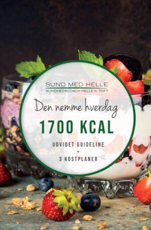 1700 kcal - Den nemme hverdag kostplaner
