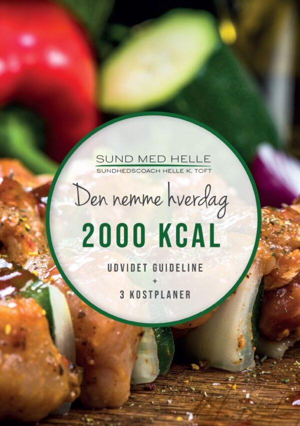 2000 kcal - Den nemme hverdag kostplaner