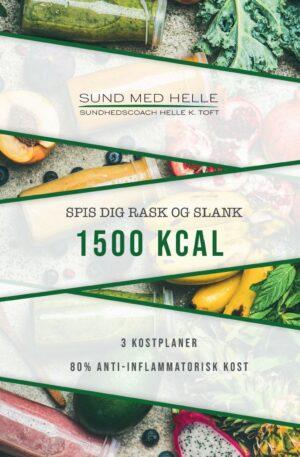 1500 kcal - spis dig rask kostplaner - Sund med Helle