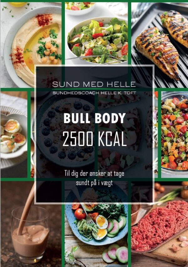 Bull Body 250kcal kostplan