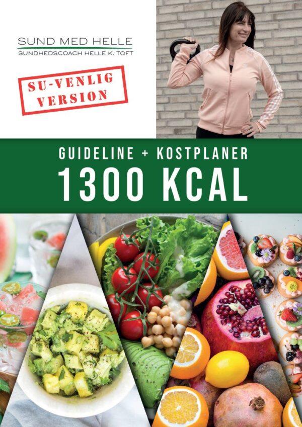 1300 kcal kostplaner SU-venlig version