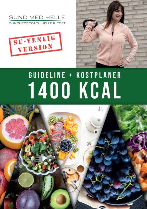 1400 kcal kostplaner SU-venlig version