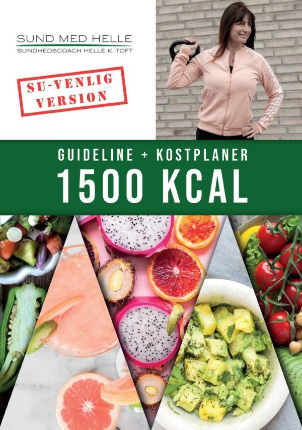 1500 kcal kostplaner SU-venlig version