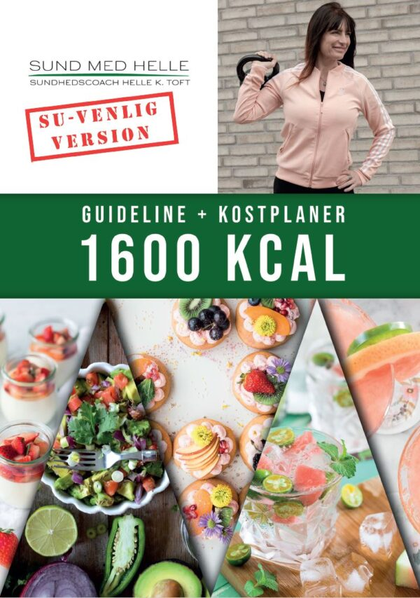 1600 kcal kostplaner SU-venlig version
