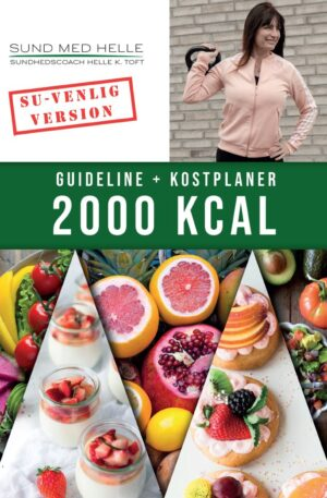 2000 kcal kostplaner SU-venlig version